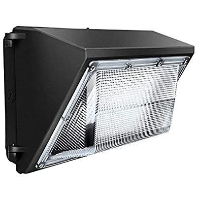 2019 Upgraded LEDMO 120W LED Wall Pack Light 15840LM 840W HPS/HID Equivalent 5000K LED Flood Light Commercial and Industrial Outdoor LED Security Lights for Parking Lots, Warehouses, Factories, UL&DLC