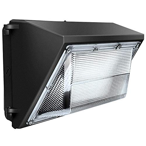 LEDMO 120W LED Wall Pack Light 15840LM 840W HPS/HID Equivalent 5000K LED Wall Pack Commercial and Industrial Outdoor LED Wall Pack Lights for Parking Lots, Warehouses, Factories