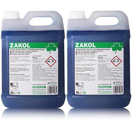 TheChemicalHut Zakol Bactericidal Acidic Toilet Cleaner/Descaler (10L) -...