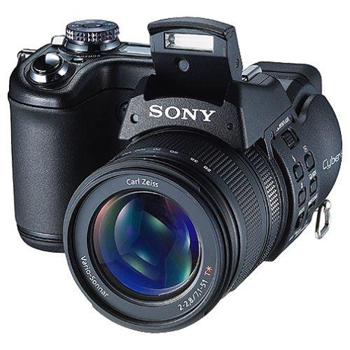 """Sony DSC-F828 Bridge Camera Cámara Puente 8 MP 2/3"""" CCD 3264 x 2448 Pixeles Negro - Cámara Digital (8 MP, 3264 x 2448 Pixeles, 2/3"""", CCD, 7X, Negro)"""