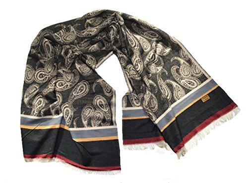 Top Qualität Luxus groß Dick Weich Streifen Paisley Plaid Schal