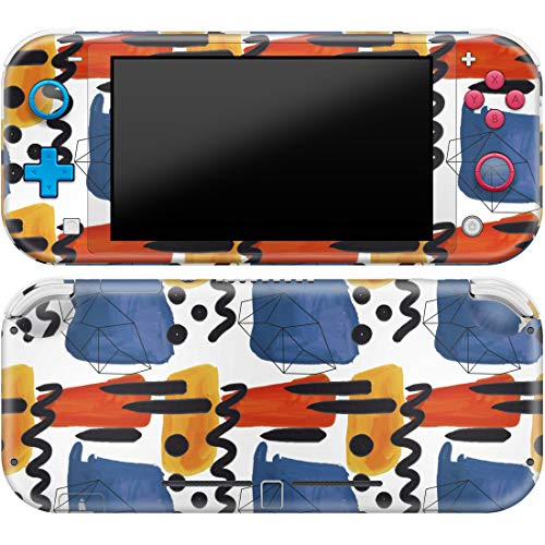 Cavka Vinyl Decal Skin Compatible with Console Switch Lite (2019) Stickers with Design Tribal Colorful Protector Durable Protection Print Full Set Funny Wrap Drawing Cover Watercolor Faceplate Paint