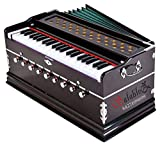 The best note of this Harmonium will mesmerize you. This Harmonium is made with very good material, so you do not need to worry about its voice at all. 7 Bellow, 42 Keys,9 Stopper, 2 Reeds A complete package of music which surely makes you more motiv...