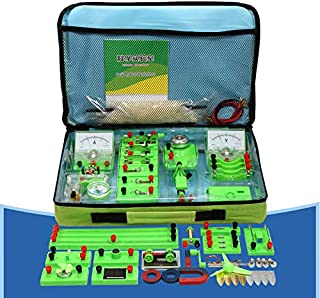Circuit Learning Kit - School Physics Labs Basic Electricity And Magnetism Projects for Kids Junior Senior High Students