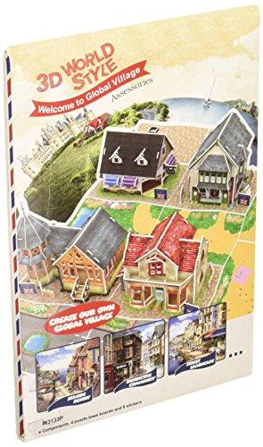 3D puzzle en trois dimensions World Series style 3D de pi?ces communes W3133h (japon importation)