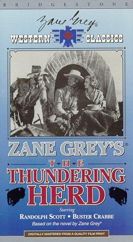 Zane Grey's Thundering Herd [VHS]
