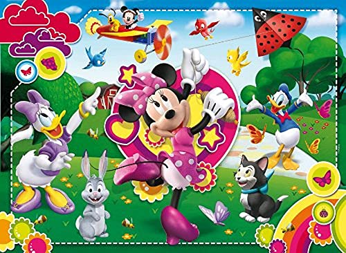 Clementoni - 24424.9 - Puzzle - It's all about Minnie