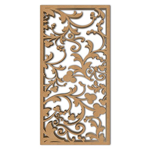 Learn More About NISH! 'Deco Panel' | Use asRoom Partition, Screen, Divider, Wall Art, Hanging, Door (MDF Wood – 12mm Thick, 4ft x 8ft, Natural Color) for Living Room, Kitchen Cabinet, Cupboards, Furniture