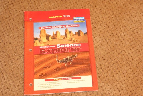 Adapted Tests Earth's Changing Surface Prentice Hall Science Explorer