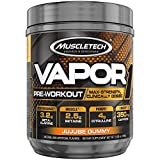Pre Workout Powder   MuscleTech Vapor One Pre-Workout   Preworkout Powder for Men & Women + Muscle Builder   Creatine Monohydrate + Beta Alanine + Betaine HCL   Jujube Gummy (20 Servings)