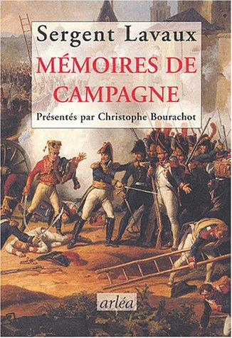 Mémoires de campagnes