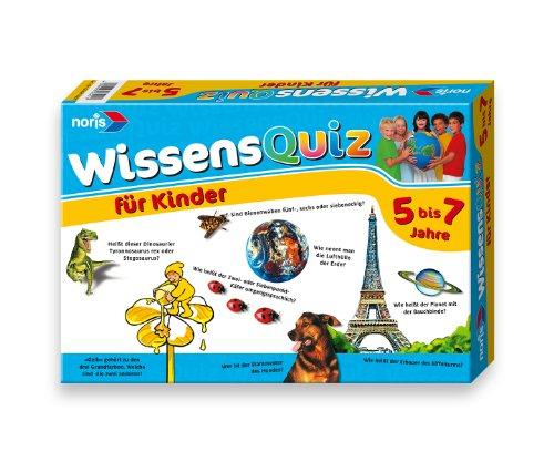 Noris 606016251 - Wissensquiz für Kinder 5 - 7 Jahre
