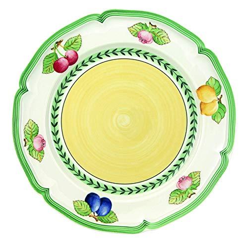 Villeroy & Boch 10-2281-2620 Assiette Plate Porcelaine Vert 29,2 x 29,2 x 8,5 cm