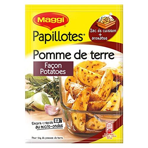 Maggi Papillotes Pommes de Terre Façon Potatoes (1 Sachet) 34g
