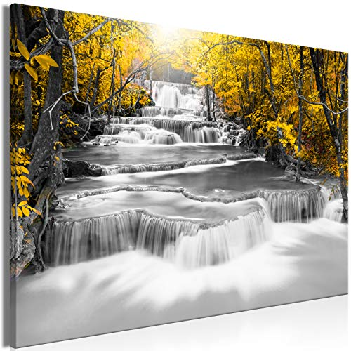 murando Canvas Wall Art Waterfall 120x80 cm/47.2'x31.5' 1 Piece Non-Woven...