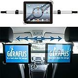 Girafus Relax H3 SUPPORTO AUTO UNIVERSALE PER TABLET con 9-10-11 Pollici iPad SAMSUNG Galaxy DVD LCD CAR MOUNT TAB da POGGIATESTA