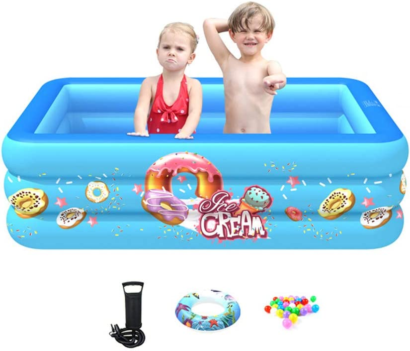 YW Inflatable Pool- 4 years OFFicial shop warranty Children's Paddling for Pool Swimming -