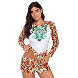 Luckycat Bikini Mujer Bikini Set - Blanco - M