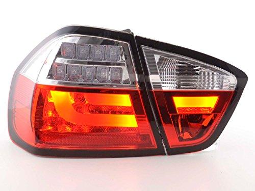 LED-achterlichten set BMW 3-serie E90 limousine bj. 05-08 lichtrood FKRLXLBM13013