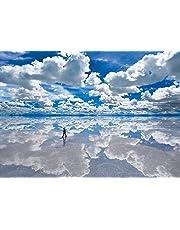 世界の絶景 ウユニ塩湖-ボリビア 単品 セット品