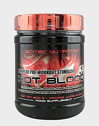 SCITEC Nutrition Hot Blood 3.0 - 300 gr Ponche Tropical