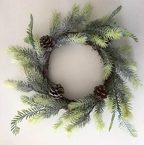 Alger Christmas garland simulation cedar wall christmas decoration green pine 50cm, about 50 cm od, 20 cm id