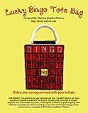 Lucky Bingo Tote Bag: Plastic Canvas Pattern (English Edition)