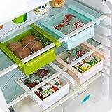 Aufbewahrungsbox für Kühlschrank/Gefrierschrank, platzsparend, Aufbewahrungsregal, Schublade, 1 Stück, Farbe zufällig