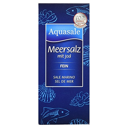 Aquasale Meersalz mit Jod 500g
