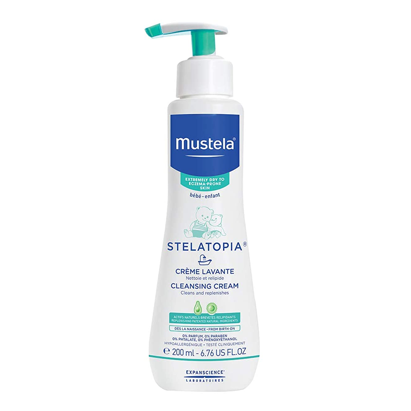 ウェイドモードどっちでもMustela - Stelatopia Cleansing Cream (6.76 oz.)