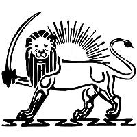 ステッカー ライオンパターン 車のステッカーウィンドウの装飾ステッカー19cm * 16cm (Color : Black)