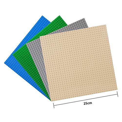 LVHERO 4 Base para Lego Classic, Juegos creativos, Juguetes educativos (Multicolor)