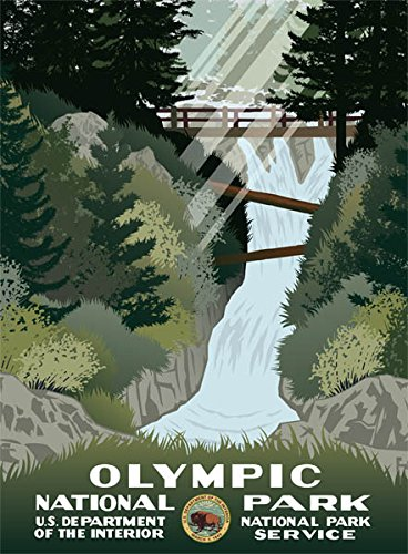 Ford Olympic National Park Poster