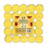 Price's - Juego de 25 velas flotantes de Citronela (gama Citronela)