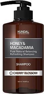 [KUNDAL公式]ネイチャーシャンプー500ml チェリーブラッサム Nature Shampoo 500ml Cherry Blossom 全成分EWGグリーンレベル・pH弱酸性・自然由来界面活性剤