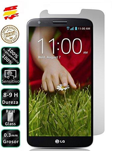 ACTECOM Protector de Pantalla Cristal Templado Premium para LG Optimus G2 D800 D802