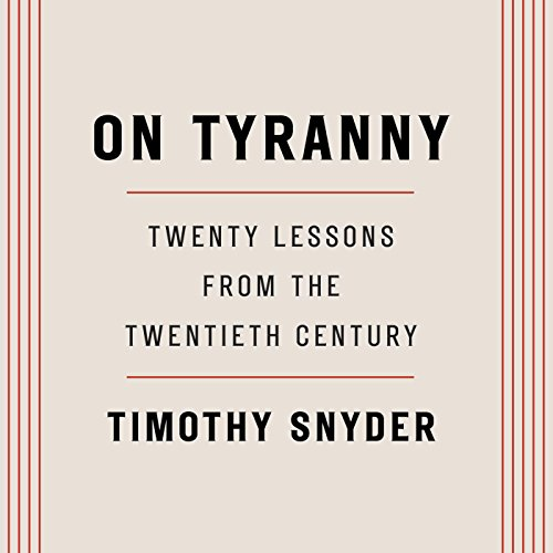 On Tyranny audiobook cover art