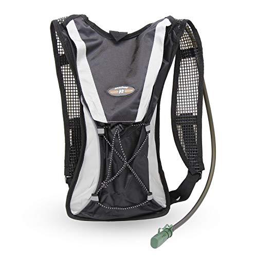 Grupo K-2 Mochila de hidratación para Running y Ciclismo con Bolsa de 2 litros incluida