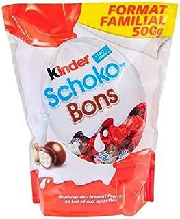 Kinder Milk & Hazelnut Choco-Bons 500g