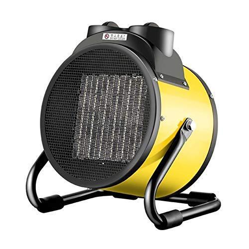 Calentador de patio portátil, se calienta en 3 segundos Calentador de ventilador pequeño, lámpara de calor exterior de acero inoxidable, ajustes de calefacción ajustables Calentadores de exterior, ad