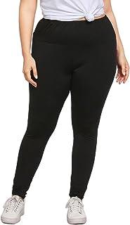 OULSEN Women Leggings Plus Size Stretch Skinny Trousers Yoga Sport Fitness Jogging Casual Long Pants Black Spring Autumn