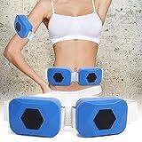 USB adelgazante Faja reductora de cintura Cinturón adelgazante para pierna Cintura Brazo Doble motor Eléctrico Máquina de masaje para perder peso