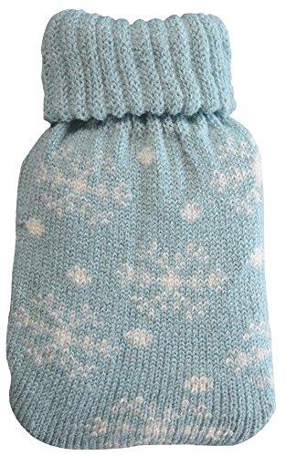 Octave® - Chauffe-mains à mini pack de gel réutilisable avec design nordique ou chevron Taille unique Flocon de neige - Bleu