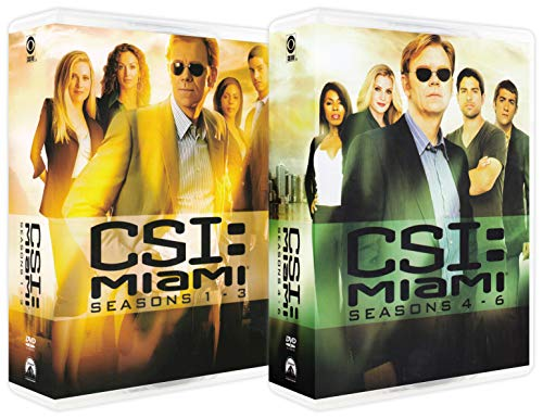 CSI: Miami (The Complete Seasons 1-6)