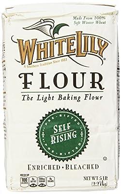 White Lily Self Rising Bleached Flour - 5Lb