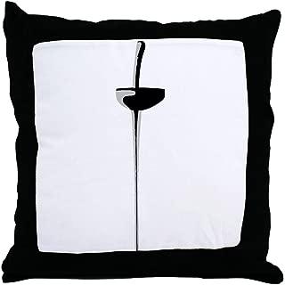 CafePress Epee Sword 2 Decor Throw Pillow (18