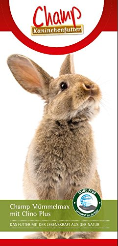 Champ getreidefreies Kaninchenfutter Mümmelmax mit Clino Plus,10 kg