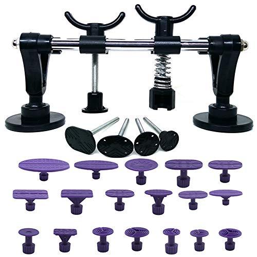 WANYIG 23 Pezzi Kit di Riparazione per Ammaccature, Ttirabolli per Carrozzeria Dent Repair Kit Auto Dent Remover Puller Strumento di Riparazione Dentatura
