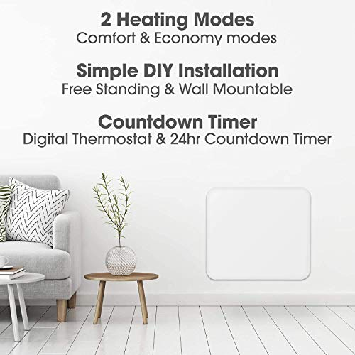 Cozytek-Electric-Heater-for-Home-Low-Energy-400W-Space-Panel-Heater-Countdown-Timer-Lot-20-400W