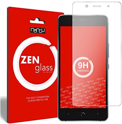 ZenGlass Flexible Glas-Folie kompatibel mit BQ Aquaris X5 Plus Panzerfolie I Bildschirm-Schutzfolie 9H